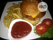 Chicken Burger With Chips | Meals & Drinks for sale in Lagos State, Ikeja