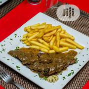 Pepper Steak With Chip | Meals & Drinks for sale in Lagos State, Ikeja