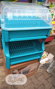 Strong Plastic Plate Rack (Pentagon ) | Kitchen & Dining for sale in Lagos State, Alimosho