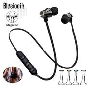 Magnetic Wireless Bluetooth (Support Memory Card) | Headphones for sale in Lagos State, Ojo