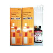 2 Apetamin and Ultimate Maca Pills for Curvy Weight Gain | Vitamins & Supplements for sale in Abuja (FCT) State, Jabi