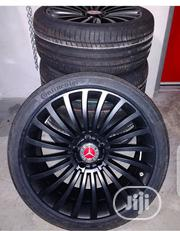 German Standard Black Benz Spoke Wheels | Vehicle Parts & Accessories for sale in Lagos State, Lekki Phase 1