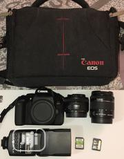Canon 800d , 50mm F1.8 Lens, 18-55mm , Godox Flash64gb , 32gb Sale | Photo & Video Cameras for sale in Lagos State, Lekki Phase 1