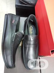 Cool Black Leather Clarks Design Just for You. | Shoes for sale in Lagos State, Lagos Island