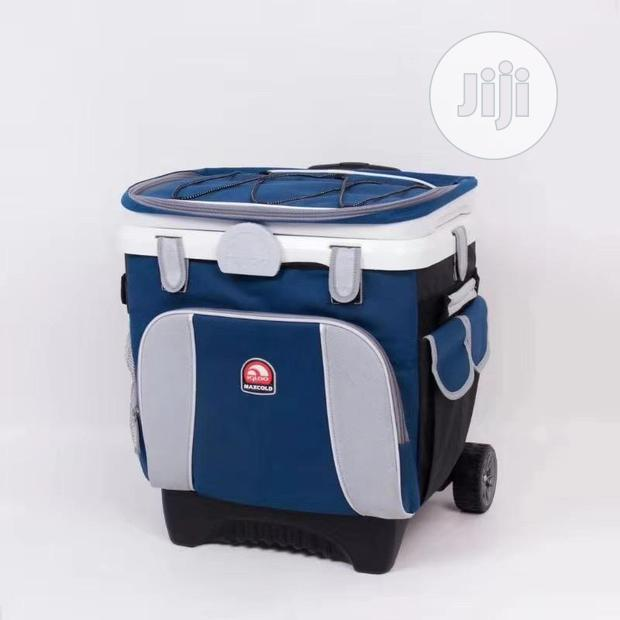 Cooling Insulated Lunch Bag Cool Bag Dual Compartment Picnic Lunch Box