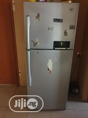 Neatly Used LG Double Fridge And Freezer | Kitchen Appliances for sale in Lagos State, Oshodi-Isolo