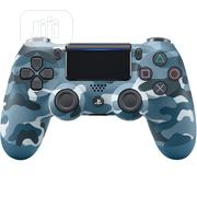 Sony Dualshock Wireless Controller For Playstation 4 - BLUE Camo   Video Game Consoles for sale in Lagos State, Ikeja