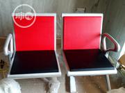 New Model Quality Iron Bench With Fibre Pad on the Seat and Back of It | Furniture for sale in Rivers State, Eleme