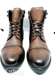 Massimo Dutti Leather Boots | Shoes for sale in Abuja (FCT) State, Central Business District