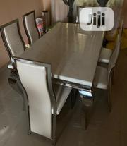 Quality Strong Six Seater Marble Dining Table | Furniture for sale in Edo State, Benin City