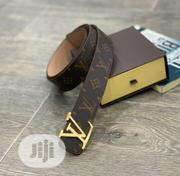 Original Louis Vuitton Leather Belt Collection | Clothing Accessories for sale in Lagos State, Surulere