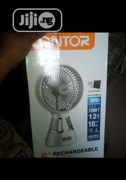 "Lontor 6"" Rechargeable Fan 
