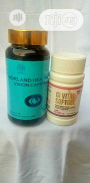 Norland Vision Gi Vital Work Perfect for Glaucoma and Cataract 100% | Vitamins & Supplements for sale in Lagos State, Magodo
