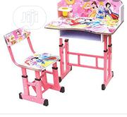 Kid Adjustable Steel And Wooden Table And Chair | Furniture for sale in Lagos State, Surulere