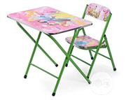 Kid Fordable Table And Chair | Furniture for sale in Lagos State, Surulere