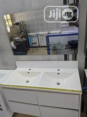 Basin Cabinet Set And Mirror.   Home Accessories for sale in Lagos State, Orile
