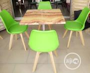 Unquie Pure Marble 4 Seater Restaurant Table and Chairs Brand New   Furniture for sale in Lagos State, Lekki Phase 1
