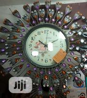 Eligant Design Purple Wall Clock | Home Accessories for sale in Lagos State, Surulere