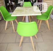 Superb 4 Seater Restaurant Table and Pure Fibre Chair Brand New | Furniture for sale in Lagos State, Lekki Phase 1