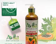 Avila Natural Papaya Body Wash | Bath & Body for sale in Ekiti State, Ado Ekiti