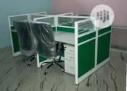 4-seater Office Workstation Table | Furniture for sale in Lagos State, Oshodi-Isolo