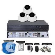 3 Camera CCTV Analog HD Kit (3 Indoor) | Security & Surveillance for sale in Lagos State, Lagos Mainland