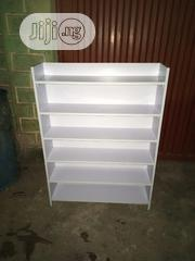 A Brand New White Color Shoes and Slippers Rack | Furniture for sale in Lagos State, Oshodi-Isolo