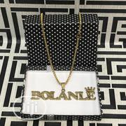 Pure Steel Prefered Name Customised Pendants With Neckchain | Jewelry for sale in Lagos State, Lagos Island