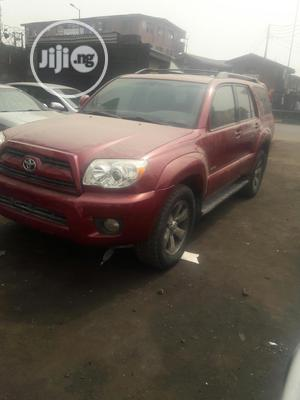 Toyota 4-Runner 2007 Limited V6 Red