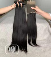 22 Inches Indian Hair and Frontal | Hair Beauty for sale in Lagos State, Ojo
