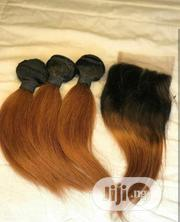 10 Inches Indian Blonde Plus Closure | Hair Beauty for sale in Lagos State, Ojo