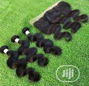 18 Inches Indian Body Wave Plus Frontal | Hair Beauty for sale in Lagos State, Ojo