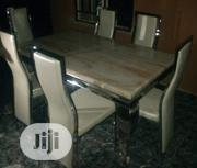 Quality Strong Six Seater Marble Dining Table   Furniture for sale in Edo State, Benin City