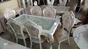 Royal Cristal Turkey Dining Table With Six Chair | Furniture for sale in Rivers State, Port-Harcourt