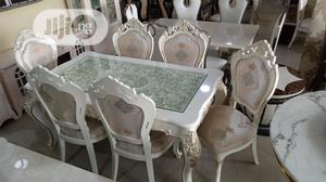 Royal Cristal Turkey Dining Table With Six Chair