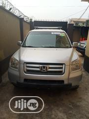 Honda Pilot 2008 EX-L 4x4 (3.5L 6cyl 5A) Silver | Cars for sale in Lagos State, Alimosho