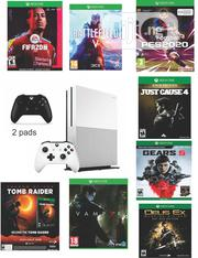 Xbox One Slim With 2 Pads And 8 Latest Games | Video Game Consoles for sale in Lagos State, Ikeja