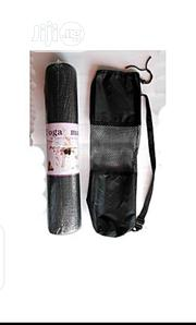 Yoga Mat With Carrier Bag | Sports Equipment for sale in Lagos State, Lagos Mainland