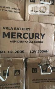 High Quality Mercury Agm Solar Battery | Solar Energy for sale in Lagos State, Ojo