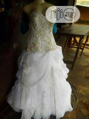 The Weddings Gown Is An Imported, In Two Sizes,12 Two New And 14 Use, | Wedding Wear for sale in Ogun State, Ipokia