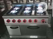 6 Burner Industrial Gas Cooker With Oven | Restaurant & Catering Equipment for sale in Lagos State, Ojo