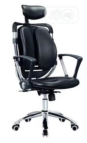 Black Office Armchair | Furniture for sale in Lagos State, Ojo