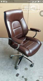 Brown Executive Leather Armchair | Furniture for sale in Lagos State, Ojo