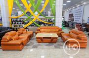 Seven Seaters Italian Leather Chairs | Furniture for sale in Lagos State, Lekki Phase 1