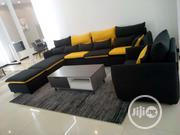 Black Sofas L Shape Chair   Furniture for sale in Lagos State, Lekki Phase 2