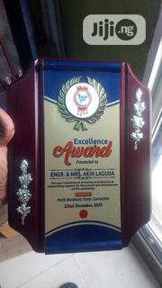 Wooden Plaque Award | Arts & Crafts for sale in Lagos State, Lagos Mainland