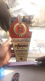 Wooden Plaque Award | Arts & Crafts for sale in Lagos State, Maryland