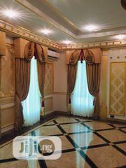 Golden Colour Tukeys Curtains | Home Accessories for sale in Lagos State, Magodo