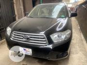 Toyota Highlander Limited 4x4 2008 Black | Cars for sale in Lagos State, Isolo