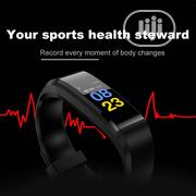 High Quality Smart Sports Watch Pedometer Fitness Tracker | Smart Watches & Trackers for sale in Lagos State, Alimosho
